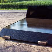 Hooklift Flatbed with Smooth Steel Floor